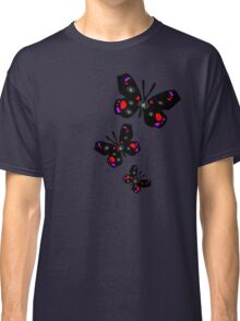 colorful butterfly vector graphic art Classic T-Shirt