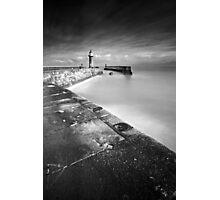 Seaward BW Photographic Print