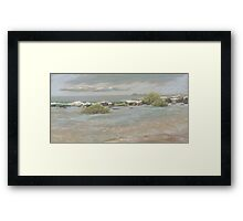Lagoon at Diggers Camp Framed Print