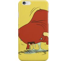 vibrating bull iPhone Case/Skin