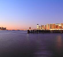 Lower Manhattan Jersey City Newport & Hoboken NJ by pmarella
