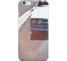 Headlight lamp vintage classic car iPhone Case/Skin