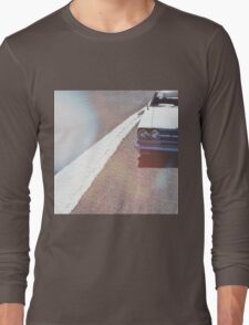 Headlight lamp vintage classic car Long Sleeve T-Shirt