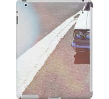 Headlight lamp vintage classic car iPad Case/Skin