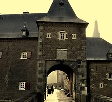 Castle Hoensbroek in Limburg by marieke1991