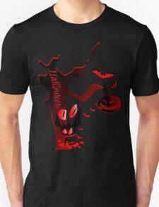 Halloween horror holidays vector graphic art Unisex T-Shirt