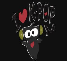 I love kpop owl vector art by cheeckymonkey