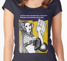 Ada Lovelace - poetical science Women's Fitted Scoop T-Shirt