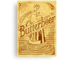 Butterbeer Canvas Print