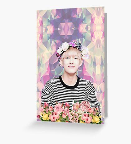 BTS/Bangtan Sonyeondan - Flower Boy Kim Taehyung Greeting Card