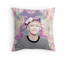 BTS/Bangtan Sonyeondan - Flower Boy Kim Taehyung Throw Pillow