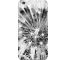 Dandelion Feathers black&white (iPhone & iPod case) iPhone Case/Skin