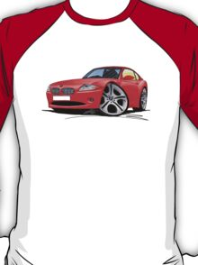 BMW Z4 Coupe Red T-Shirt
