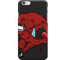 Red Lion - Dark Grey iPhone Case/Skin
