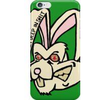 Rabbit - Green iPhone Case/Skin