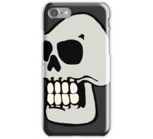 Skull - Grey iPhone Case/Skin