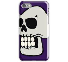 Skull - Purple iPhone Case/Skin