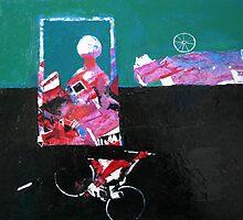lesson of biking by Valeriu Buev