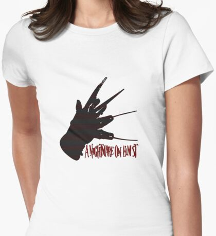 A Nightmare On Elm Street Womens Fitted T-Shirt