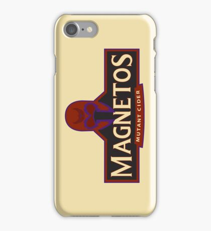 Magnetos Mutant Cider (iPhone Case) iPhone Case/Skin