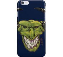 Demon - Blue iPhone Case/Skin