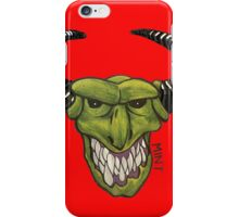 Demon - Red iPhone Case/Skin