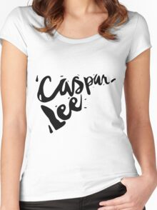 Caspar Lee - Logo Women's Fitted Scoop T-Shirt