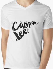 Caspar Lee - Logo Mens V-Neck T-Shirt