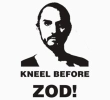 Another Kneel Before Zod Tee by Buleste