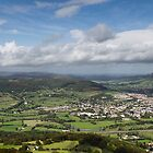 Abergavenny from Blorenge by Neal Petts