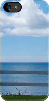 beside the sea - tasmania - iphone/samsung galaxy cover by mellychan