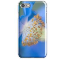 The Colour Blue - Himalayan Blue Poppy iPhone Case/Skin