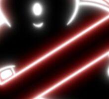 Ghostbusters Neon Sticker
