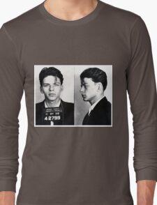 Frank Sinatra Mug Shot Long Sleeve T-Shirt