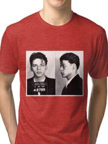 Frank Sinatra Mug Shot Tri-blend T-Shirt