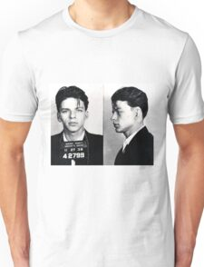 Frank Sinatra Mug Shot Unisex T-Shirt