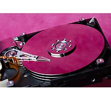 Computer hard drive Photographic Print