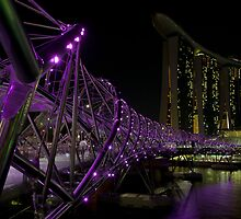 Double Helix Bridge - 2 by Christopher Grace