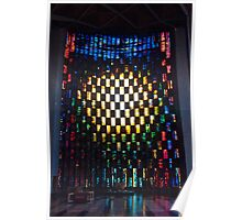 Stained Glass - Coventry Cathedral Poster