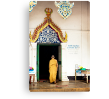 Village Monk Canvas Print