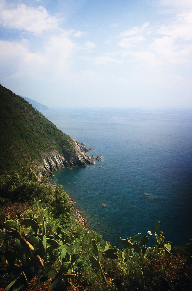 Cinque Terre views by Kelly Kingston