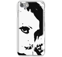 Girl Face - Lashes iPhone Case/Skin