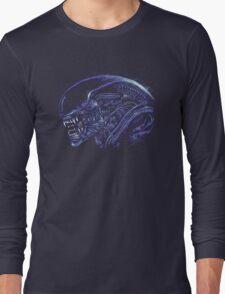 Space Nightmare (horror purple) Long Sleeve T-Shirt