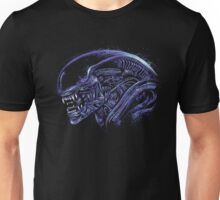 Space Nightmare (horror purple) Unisex T-Shirt