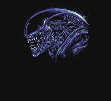 Space Nightmare (horror purple) Unisex T-Shirt