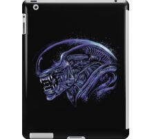 Space Nightmare (horror purple) iPad Case/Skin