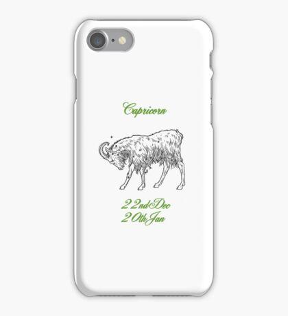 Capricorn iPhone Case/Skin