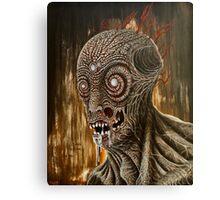 TV Zombie 1 Canvas Print