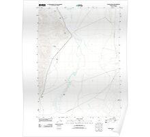 USGS Topo Map Oregon Colony Ranch 20110818 TM Poster