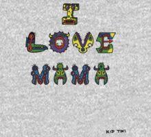 I Love Mama Baby Tee